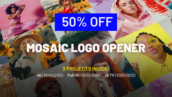 Mosaic Logo Opener