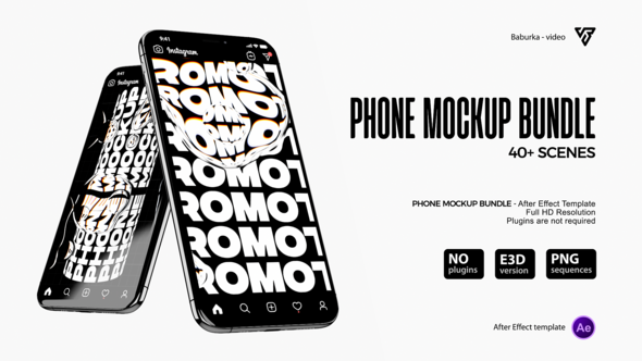 Phone Mockup Bundle