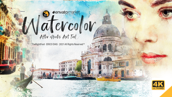 Watercolor AE Art Tool