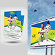 Kids Martial Art Flyer + Billboard Bundle - GraphicRiver Item for Sale