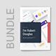Portfolio Resume Light and Dark Bundle 3 in 1 - GraphicRiver Item for Sale