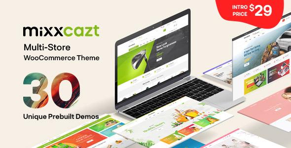 Mixxcazt – Creative Multipurpose WooCommerce Theme, Gobase64