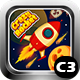 Crazy Rocket 2 Space Shooter Game (Construct 3 | C3P | HTML5) Admob and FB Instant Ready - CodeCanyon Item for Sale