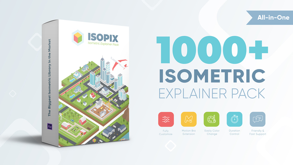 Isopix - Isometric Explainer Pack