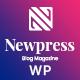 Newpress - Blog Magazine WordPress Theme - ThemeForest Item for Sale