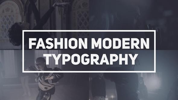 Fashion Modern Typography