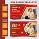 Grow Your Business Corporate Web Banner Template - GraphicRiver Item for Sale