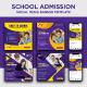 Kids School Admission Social Media Post Design - GraphicRiver Item for Sale