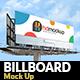 Billboard Mock Up - 003 - GraphicRiver Item for Sale