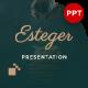 Esteger Delight Presentation Template - GraphicRiver Item for Sale