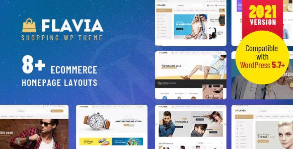 Flavia – Download Responsive WooCommerce WordPress Theme, Gobase64