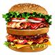 Super Burger Set - GraphicRiver Item for Sale