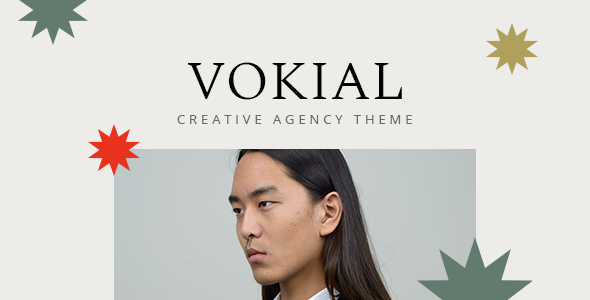 Vokial – Creative Agency Theme, Gobase64