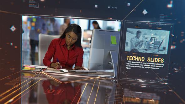 Techno Digital Slideshow