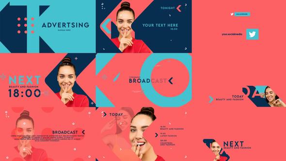 Typographic Broadcast Pack