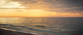 View on landscape of sunset, sea with wave and beach. Travel concept - PhotoDune Item for Sale