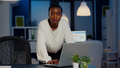 African business woman standing near desk looking at camera - PhotoDune Item for Sale
