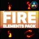 Fire Elements | DaVinci Resolve - VideoHive Item for Sale