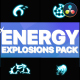 Energy Explosion Elements | DaVinci Resolve - VideoHive Item for Sale