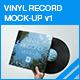 Vinyl Mock-up v1 - GraphicRiver Item for Sale