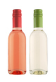 small miniatures wine bottles isolated on white - PhotoDune Item for Sale