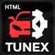 TUNEX    Auto Mechanic & Car Repair HTML Template - ThemeForest Item for Sale
