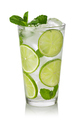Mojito cocktail with lime, mint and ice - PhotoDune Item for Sale
