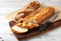 baked bread on wooden table - PhotoDune Item for Sale