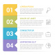 Infographic Template with 4 Steps - GraphicRiver Item for Sale