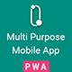 Odis: PWA Mobile App - ThemeForest Item for Sale