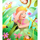 Scout Girl Adventure in Jungle with Animals - GraphicRiver Item for Sale