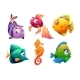Underwater Bottom Sea Animal Ocean - GraphicRiver Item for Sale