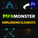 Explosion Elements | Premiere Pro MOGRT - VideoHive Item for Sale