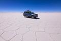 Off-road car at Salar de Uyuni, Aitiplano, Bolivia - PhotoDune Item for Sale