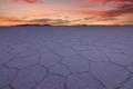 Sunset at Salar de Uyuni, Aitiplano, Bolivia - PhotoDune Item for Sale