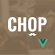 Chop - Barber Shop Vue JS Template - ThemeForest Item for Sale
