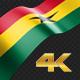 Long Flag Ghana - VideoHive Item for Sale
