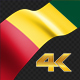 Long Flag Guinea - VideoHive Item for Sale