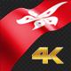 Long Flag Hongkong - VideoHive Item for Sale