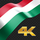 Long Flag Hungary - VideoHive Item for Sale