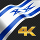 Long Flag Israel - VideoHive Item for Sale