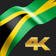 Long Flag Jamaica - VideoHive Item for Sale