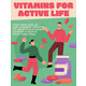 Vector Poster of Vitamins for Active Life Concept - GraphicRiver Item for Sale