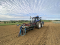 farmer and tractor for planting grape - PhotoDune Item for Sale