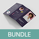 The Resume – Brochures Bundle Print Templates 7 in 1 - GraphicRiver Item for Sale