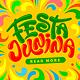 Festa Junina Ornate Designs Set - GraphicRiver Item for Sale