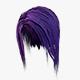 Elf Hair SEt Low-poly - 3DOcean Item for Sale