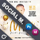 Baby Event Social Media Templates - GraphicRiver Item for Sale