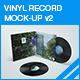 Vinyl Mock-up v2 - GraphicRiver Item for Sale