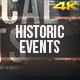 Historic Events for Premiere Pro - VideoHive Item for Sale